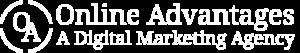 Online Advantages logo white